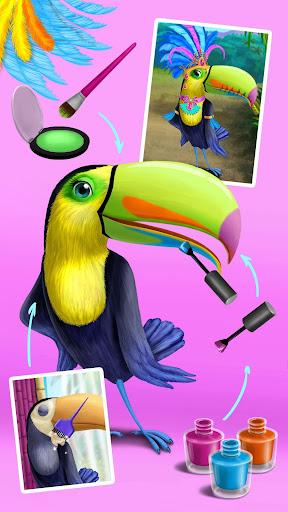Jungle Animal Hair Salon - Styling Game for Kids apkmr screenshots 6
