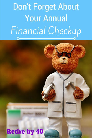 Don't forget about your annual Financial checkup