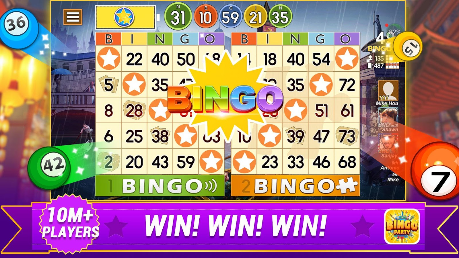 Bingo Party - Crazy Bingo Tour- screenshot