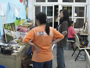 Photo: 20111018頭份(二)油畫創作003