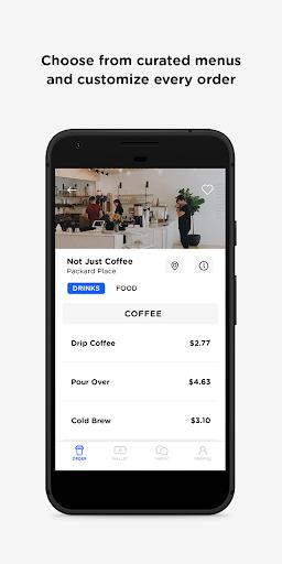 Cloosiv - Order Local Coffee screenshots 4