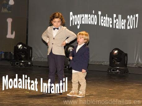 Programacio Teatre Faller 2017 día 29 d'Octubre #TeatreFaller