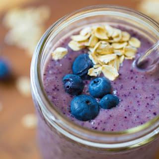 Blueberry Banana Oat Smoothie