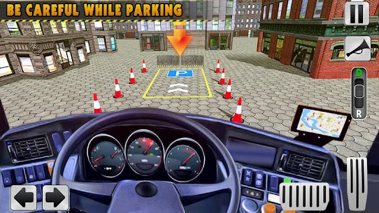 Modern Bus Drive 3D Parking new Games-FFG Bus Game 5