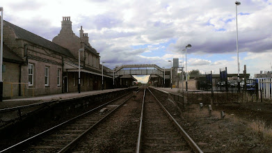 Photo: Worksop Railway Station, where a Pheasantry beer was on the bar of the Mallard (Photo by Simon Chappell)