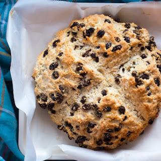 Soda Bread with Raisins and Orange Zest | #BreadBakers.