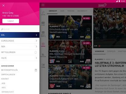 telekom basketball android apps auf google play. Black Bedroom Furniture Sets. Home Design Ideas