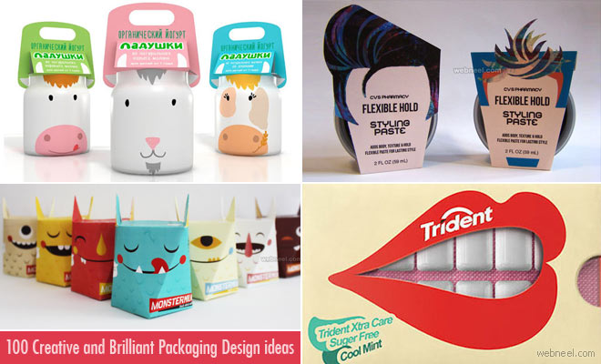 Photo: 100 Creative & Brilliant Packaging Design ideas from around the world http://webneel.com/brilliant-packaging-design-inspiration