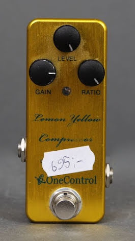One Control Lemon Yellow Compressor USED. Good condition. No box.