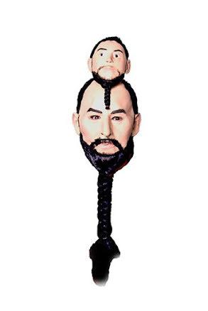 Guru med 2 huvuden, mask
