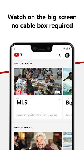 YouTube TV - Watch & Record Live TV 3.49.3 screenshots 3