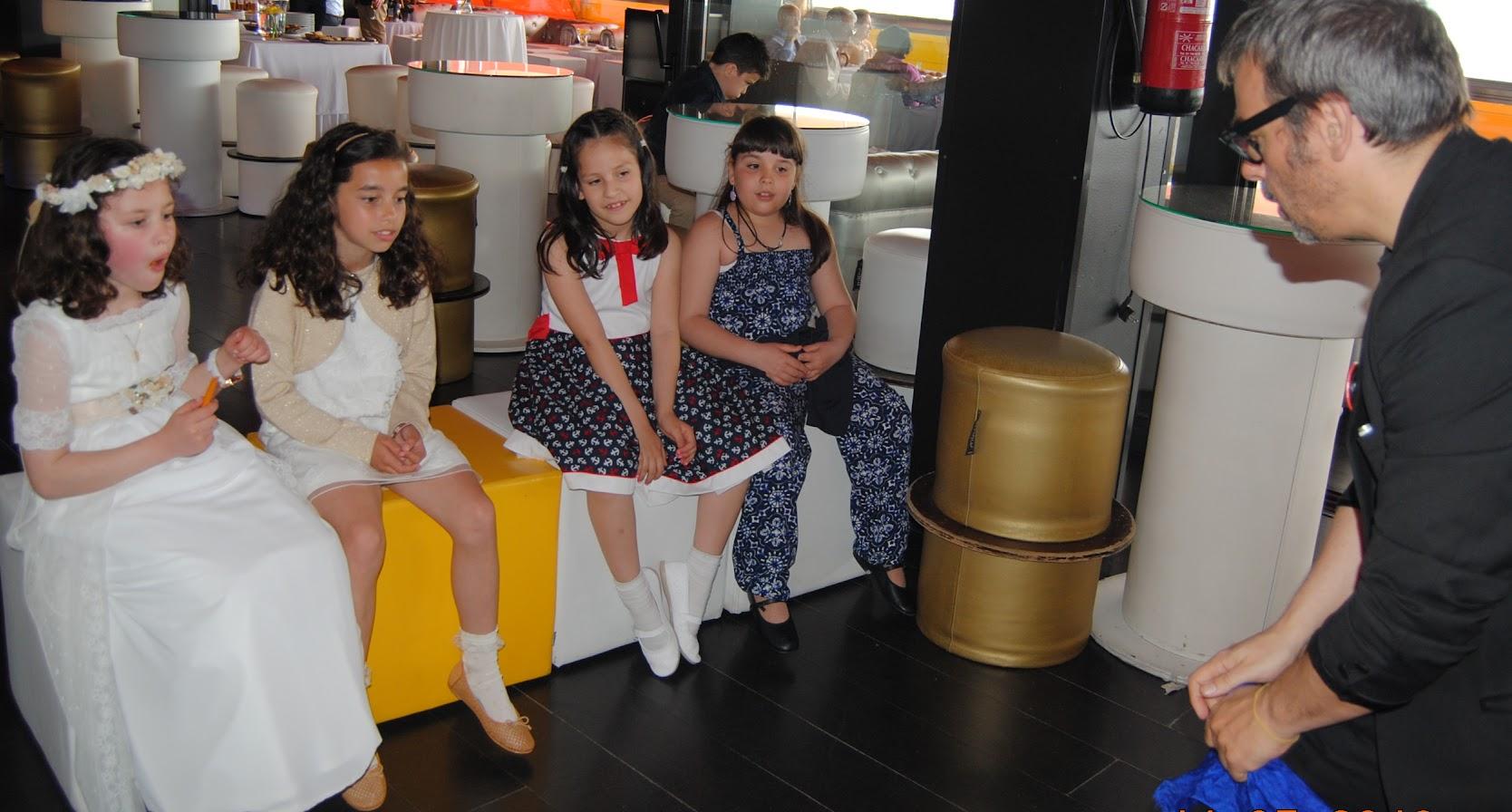 mago para niños en comuniones Madrid