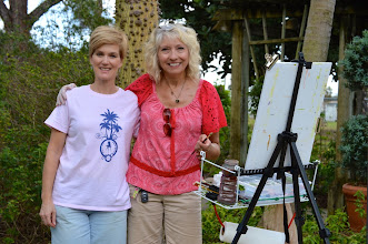 Photo: MANON AND PAM AT MOUNTS GARDENS