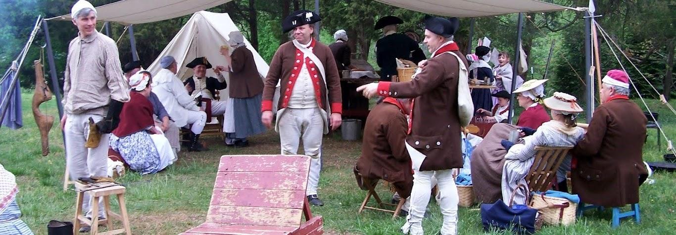 The Encampment at Mount Vernon...