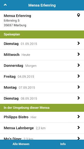 Mensa Marburg