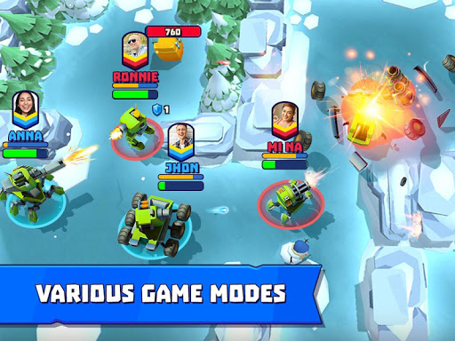 Tanks A Lot! - Realtime Multiplayer Battle Arena 1.30 screenshots 12
