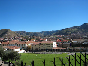 Photo: It rains a lot in Cuzco, but this was a beautiful day.