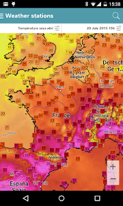 Infoclimat - live weather screenshot 1