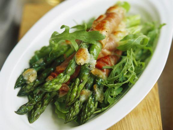 Ham-Wrapped Asparagus Recipe