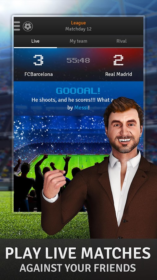 Golden Manager - Football Game- screenshot