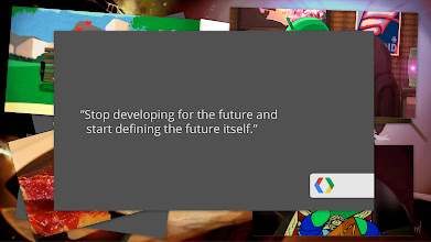Photo: To create truly magical experiences, you need to stop developing apps for the future, and start defining the future itself.