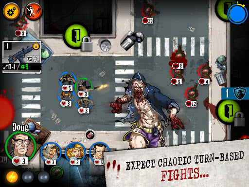 Screenshot for Zombicide: Tactics & Shotguns in United States Play Store