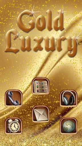 玩免費個人化APP|下載골드 럭셔리 디럭스 테마 app不用錢|硬是要APP