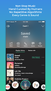 Dash Radio- Free Music, No Ads- screenshot thumbnail
