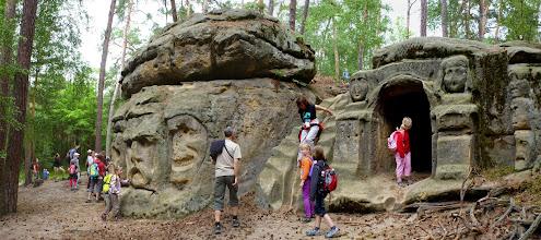 Photo: Hlavy a jeskyně na Harfenici.