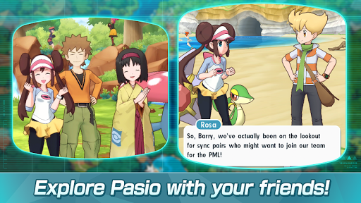 Pokémon Masters Screenshot