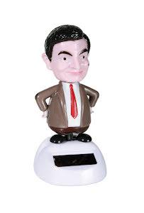 Rörlig figur, Mr Bean med solcell
