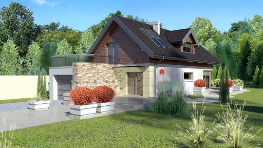 projekt Dom przy Kolorowej