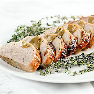 6-Ingredient Honey Mustard Pork Tenderloin.