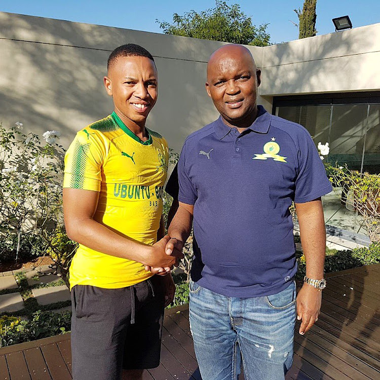 Andile Jali is relieved to have finally put pen-to-paper to sign a five-year contract with Mamelodi Sundowns and end the speculations that surrounded his next destination.