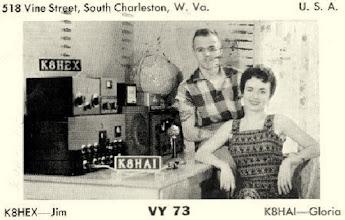 Photo: K8HAI - 1958