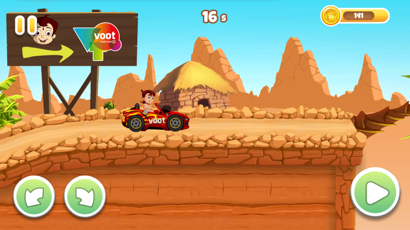Chhota Bheem Speed Race game or iPhone & iPad 2018