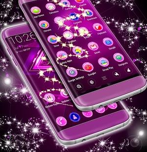 Purple Neon Téma - náhled