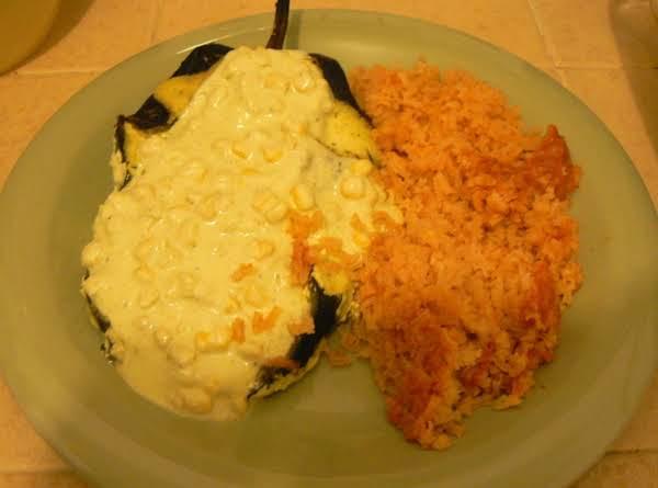 ~chiles Poblanos Stuffed With Tuna~