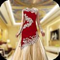 Royal Bridal Dress Photo Maker icon