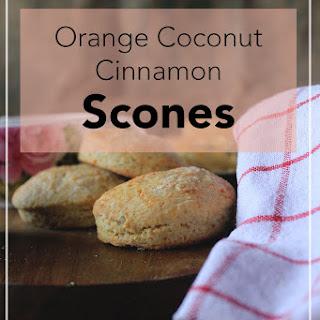 Orange Butter, Cinnamon and Coconut Scones Recipe