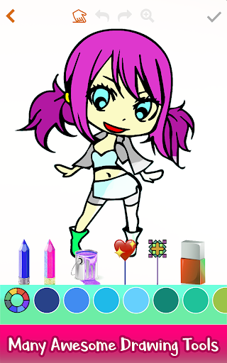 How To Draw Anime - Glitter, Color, Drawing Book hack tool