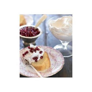 Whipped Vanilla Cream With Arils