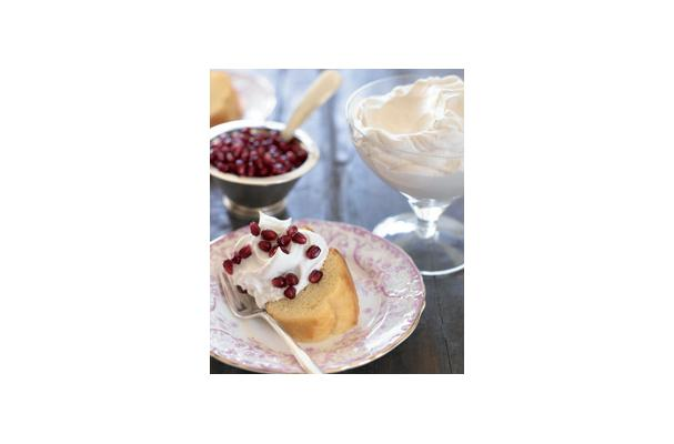 Whipped Vanilla Cream with Arils Recipe