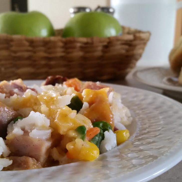 Ham and Rice Casserole Recipe