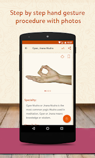 Daily Mudras (Yoga) - for health- screenshot thumbnail