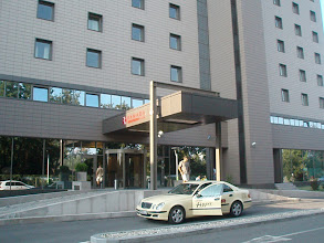 Photo: We arrived in Bucharest, Romania on July 21, 2010 and stayed at a very upscale Ramada hotel.