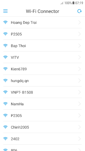 Wifi Connector (Wifi Networks Scanner & Connector) screenshots 1