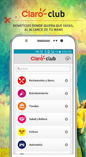 Claro Club Centroamérica 2.0.0 screenshots 2