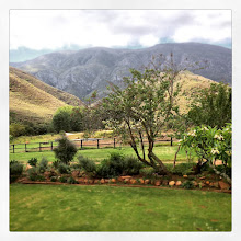 Photo: This is the view from the patio of our large Farmhouse Erika which sleeps 20+ guests. Our plans are to build a undercover Braai on the patio soon so you can enjoy this view come rain or shine.