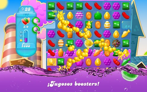 Candy Crush Soda Saga: miniatura de captura de pantalla